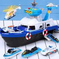 儿童玩具车船模型小汽车警车智力开发2-3-4-6岁三四五周益智男孩