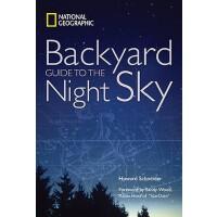英文原版 国家地理后院夜空指南 National Geographic Backyard Guide to the N