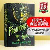 华研原版 Frankenstein 英文原版书 科学怪人弗兰肯斯坦 英文版科幻小说 经典名著进口英语书籍 雪莱