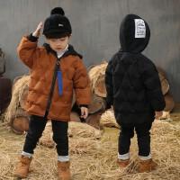 儿童棉衣外套中长款男童冬装宝宝棉袄小孩羽绒