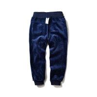 童装秋冬装男童舒适一体绒加绒卫裤儿童运动裤保暖长裤