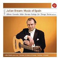 �F� [中�D音像]朱利安 布里姆演奏的西班牙吉他作品 6CD Julian Bream - Music of Spai