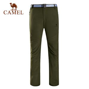 camel骆驼户外速干裤 春夏男女款透气耐磨快干速干长裤