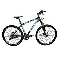 耐嘛自行车山地车27速铝合金车架26寸可锁死前叉双碟刹微软变速男女士单车