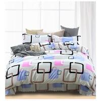 床上用品四件套学生单人1.2米三件套1.5/2米仿全棉四件套