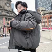 2018新款棉衣男士冬季外套潮流韩版学生棉袄短款男装加厚羽绒