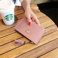 零钱包女短款手拿包小钱包迷你皮可爱卡包韩国硬币包零钱袋