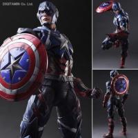 复仇者联盟 雷神蜘蛛侠可动 PA改美国队长 高26cm 可动关节比较脆,把玩勿用力过度