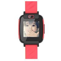 糖猫儿童手表 智能定位手表 移动电话手表 紧急求救 防尘防水 语音聊天 智能拍照 炫红