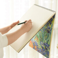 A3素描本速写纸绘画八开空白画纸彩铅本手绘8k学生用8开成人大号美术图画本厚