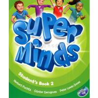 英音版剑桥小学英语教材 Super Minds Level 2 Student's Book with DVD-ROM 第二级别 学生用书