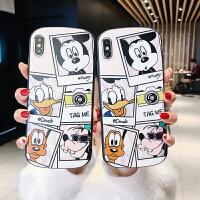 可爱卡通软壳8plus苹果x手机壳XS Max/XR/iPhoneX/7p/6女iphone6s XR (椭圆) 迪士