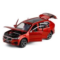 沃尔沃XC60越野1/32合金车模避震转向全开门金属模型玩具摆设