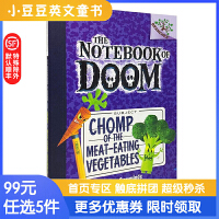 进口英文原版 CHOMP OF THE MEAT-EATING VEGETABLES食肉蔬菜的咀嚼