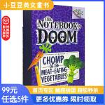 进口英文原版 CHOMP OF THE MEAT-EATING VEGETABLES食肉蔬菜的咀嚼