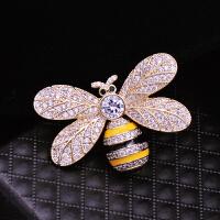 胸针女配饰品胸花可爱蜜蜂时尚男士西服大气外套大衣别针