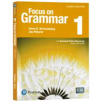 专注语法 1级别 学生用书 Focus on grammar Level 1 英文原版 英文版进口原版英语书籍