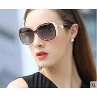 狐狸珍珠时尚设计防紫外线眼镜韩版复古墨镜潮人眼镜新款偏光太阳镜女