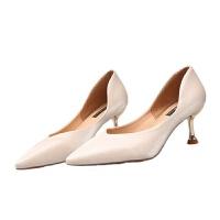 高跟鞋女细跟2019秋季新款单鞋中式结婚鞋子秀禾鞋新娘鞋婚鞋