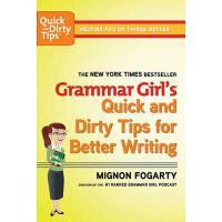 英文原版 语法女孩:写作妙招 Grammar Girl's Quick and Dirty Tips for Bette