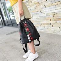 双肩包女包包韩版新款潮时尚百搭帆布书包旅行牛津布女士背包