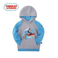 【满200减100】托马斯童装男童秋装卫衣纯棉圆领套头卫衣中大童运动上衣托马斯和朋友