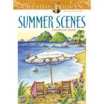 Creative Haven Summer Scenes Coloring Book (【按需印刷】)