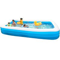 儿童充气游泳池家用婴儿宝宝游泳桶加厚折叠超大号成人小孩戏水池