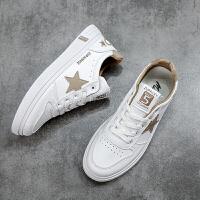 木林森新款男鞋夏季潮流透气小白鞋板鞋男休闲鞋