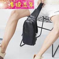 新品胸包男士小包包斜挎包韩版潮男式迷你男生学生青年休闲单肩包