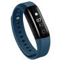 乐心智能手环 测心率运动手表男女蓝牙计步器华为小米mambo2防水 深海蓝