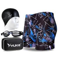 游泳裤 男士泳衣男款游泳套装温泉款性感大码装备