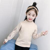 秋装新款童装套头针织衫打底衫毛衣中大童装