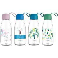苏泊尔(SUPOR)水杯男女学生塑料杯运动水壶情侣便携大容量防摔随行杯子BB杯果汁杯