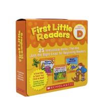 #进口英文 First Little Readers D 学乐个小读者系列25册盒装【3-6岁】