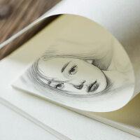 素描纸水粉纸水彩画纸4k 8k批发100张美术生8开画画纸白纸速写纸画纸初学者手绘水彩纸