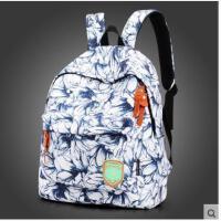 精美时尚印花碎花单肩包迷你学生书包小背包女士双肩休闲旅行包