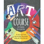 【中商原版】艺术课程 英文原版 The Art Course 精装 艺术创作指导 6-12岁