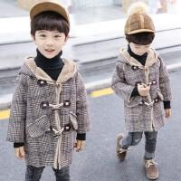 男童儿童秋冬呢子大衣外套宝宝中长款毛呢潮