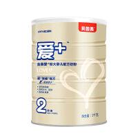 贝因美(Beingmate)金装爱+婴幼儿配方牛奶粉2段1000克