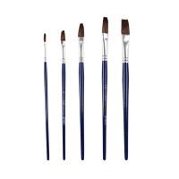晨光 水彩画笔97898 水粉画笔97899 美术绘画笔 颜料笔刷 5支装