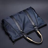 潮流新款韩版男包手提包 商务公文包单肩斜跨包 休闲防水耐磨包