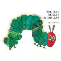 The Very Hungry Caterpillar 英文原版好饿的毛毛虫 廖彩杏书单推荐