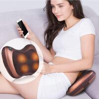 颈椎按摩器颈部腰部背部多功能全身家用按摩枕头车载按摩靠垫