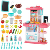 过家家厨房玩具儿童仿真厨具做饭玩具套装一体厨房仿真厨具