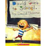 英文原版绘本 David Goes to School 大卫不可以系列 大卫上学去 吴敏兰绘本123 第103本