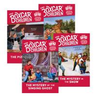 棚车少年31-34册全套 The Boxcar Children Mysteries Books 英文原版小说 英语章节