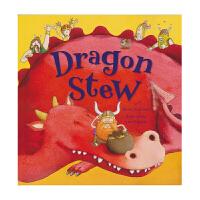 Dragon Stew 龙炖 睡前冒险故事绘本 亲子共读英语读物 儿童英文原版进口图书