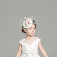 儿童发饰帽子配饰宝宝发夹花童配饰伴娘头饰创意花朵发饰手工制作