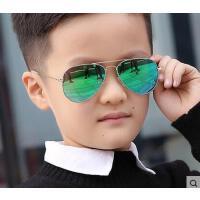儿童太阳镜男眼镜防紫外线 户外新款偏光小孩舒适蛤蟆镜韩版时尚个性女潮学生墨镜